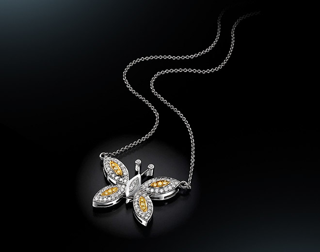 BF-81 Butterfly  Pendant